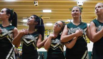 Cheerleader with Down Syndrome brings cheer