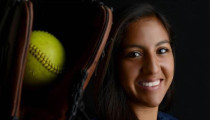 California softball player kept the hits coming