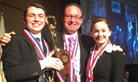 McDermott Trio Leads Prospect  to Illinois Speech Title