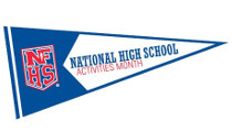 October is National High School Activities Month