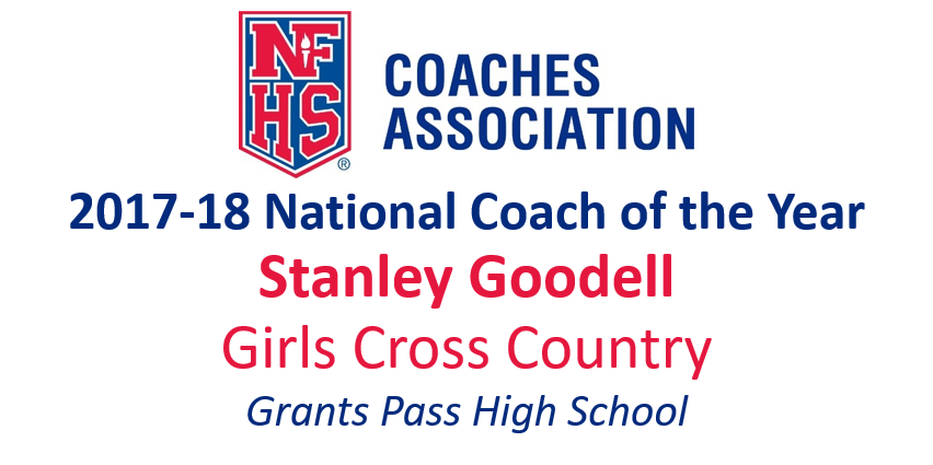 Stanley Goodell: National Girls Cross Country Coach of the Year (2017-18)