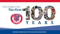 """From Chicago to Indy – The First 100 Years"" Commemorative Book Now Available from NFHS"