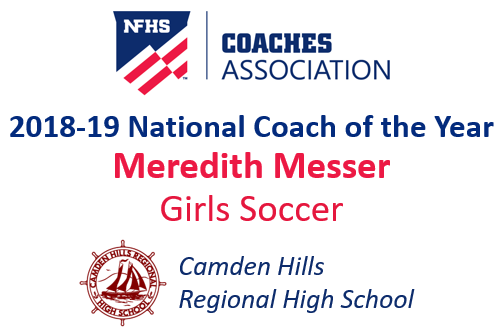 Meredith Messer: National Girls Soccer Coach of the Year (2018-19)