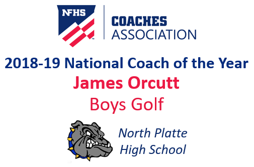 James Orcutt: National Boys Golf Coach of the Year (2018-19)