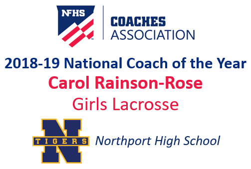 Carol Rainson-Rose: National Girls Lacrosse Coach of the Year (2018-19)