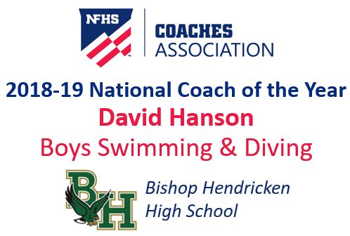 David Hanson: National Boys Swimming & Diving Coach of the Year (2018-19)