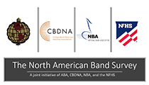 The North American Band Survey: A Joint Initiative of ABA, CBDNA, NBA, and the NFHS
